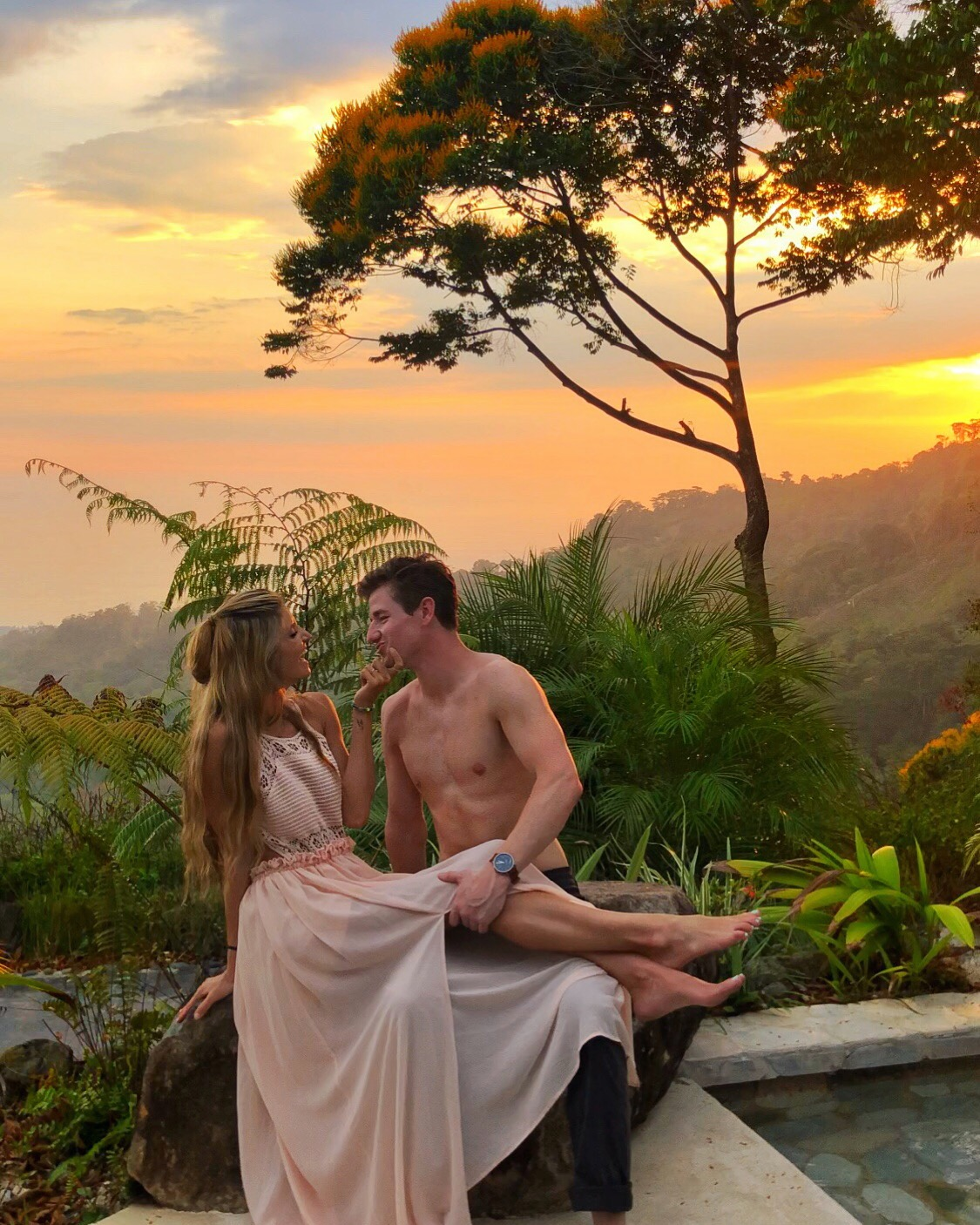 Couple goals~ Costa Rica: Vista Celestial