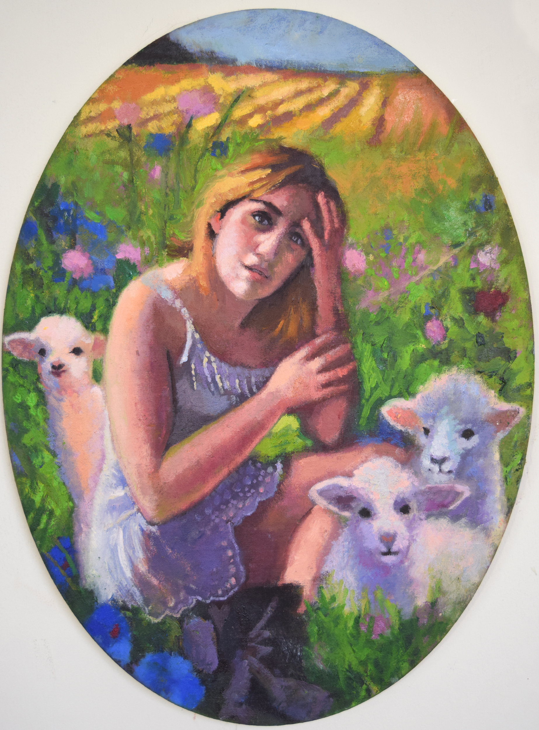 Small Bo Peep and her Lambs