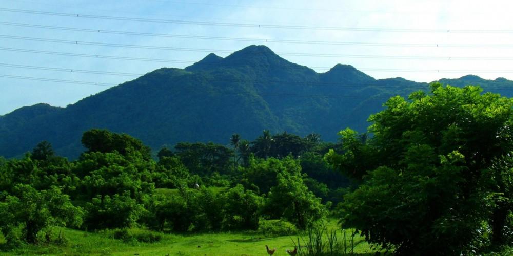 Mount Makiling. Image courtesy of Dona Jovita Garden Resort