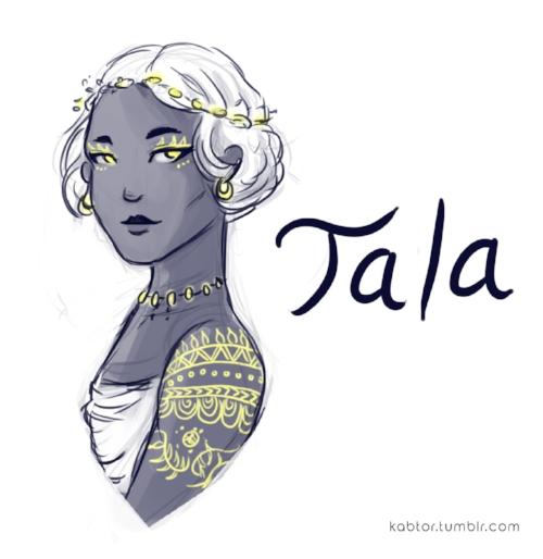 Tala  / Artwork by  Ren Ren de Sarapen
