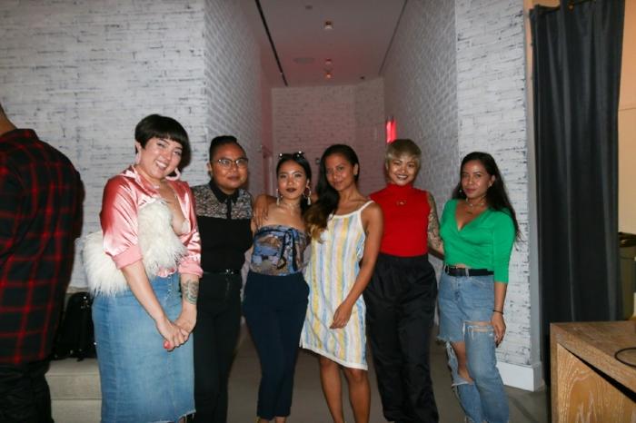 Some of the Hella Pinay crew (from left to right): Stephanie Gancayco,AC Dumlao, Elyssa Marie Rivera, Lovelisa Dizon, King Marie, TNYFox