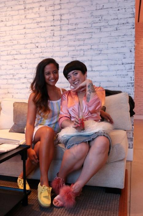 Lovelisa Dizon & Stephanie Gancayco