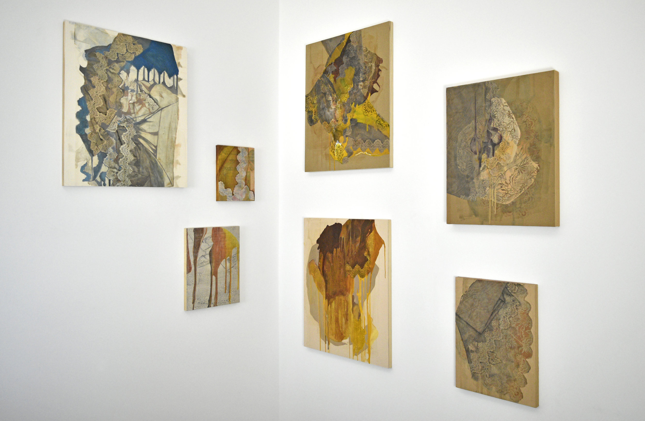 Pieces from Rea's  Retaso  series