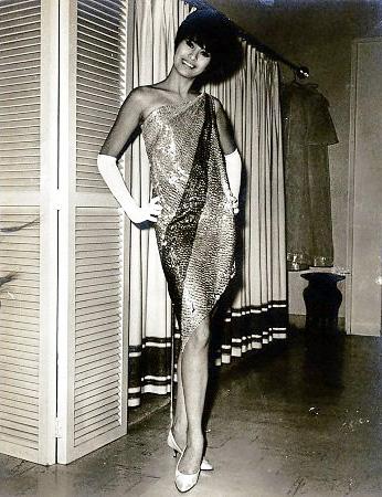 Maita modeling a Pitoy Moreno dress