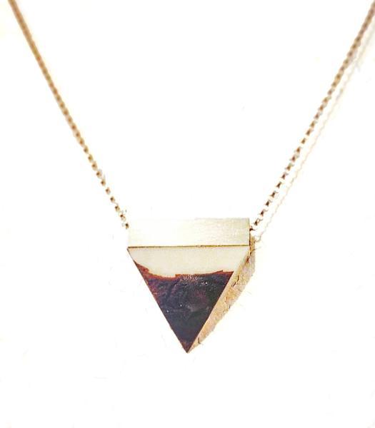 Tagua Nut Necklace, Jennifer Rong Designs ($75 CAD)
