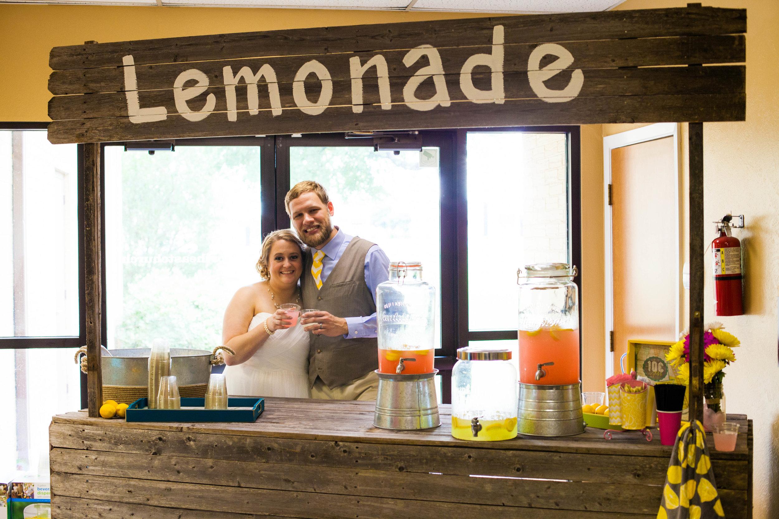 Husband and Wife Lemonade Stand