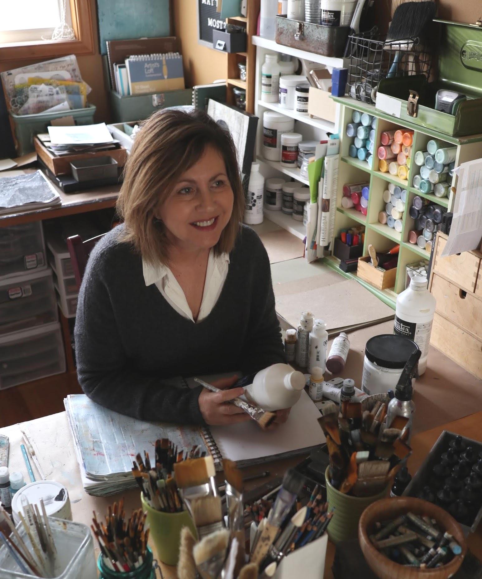 Pam Hemmerling, Artist Paper & Mallet