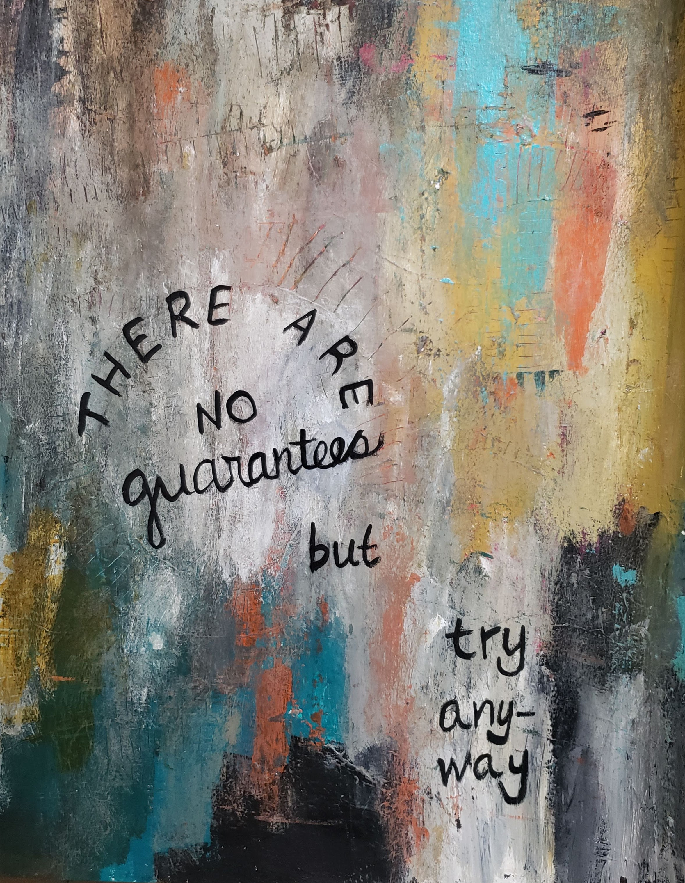 There are no guarantees but try anyway