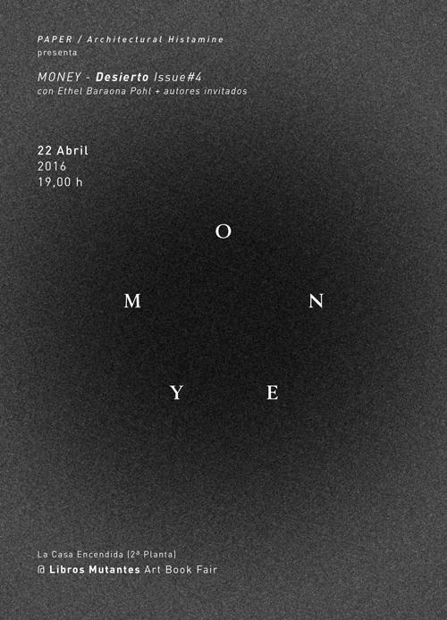 Desierto Issue 4 - MONEY - April 2016