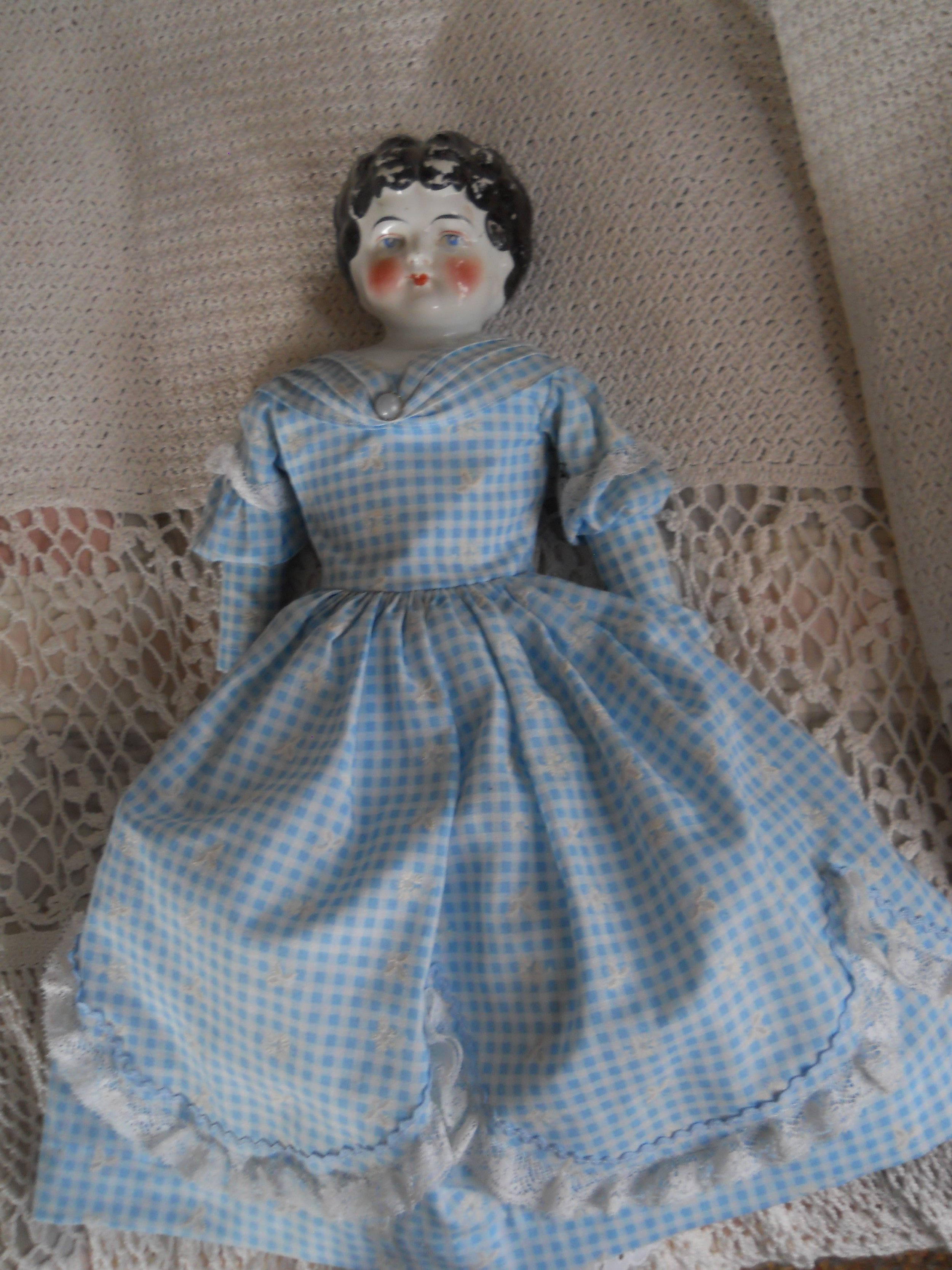 A china doll from our collection