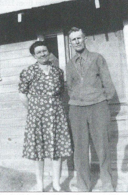 Mary and Harley Johnston, 1954.