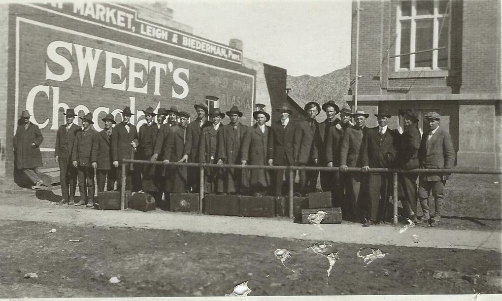 Cedar City's World War I draftees