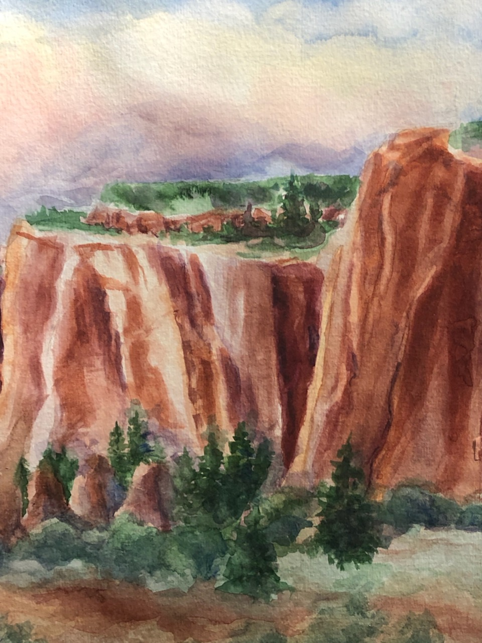 Red Mesa by Sandra Anderson