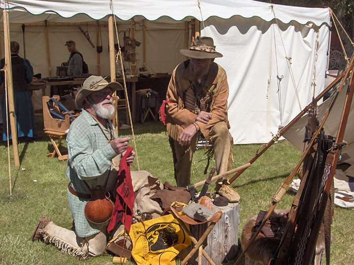 - A MIX OF TRADITIONAL FRONTIER SKILLS AND HANDS-ON ACTIVITIES ROUND OUT THE FOLKLIFE FESTIVAL.