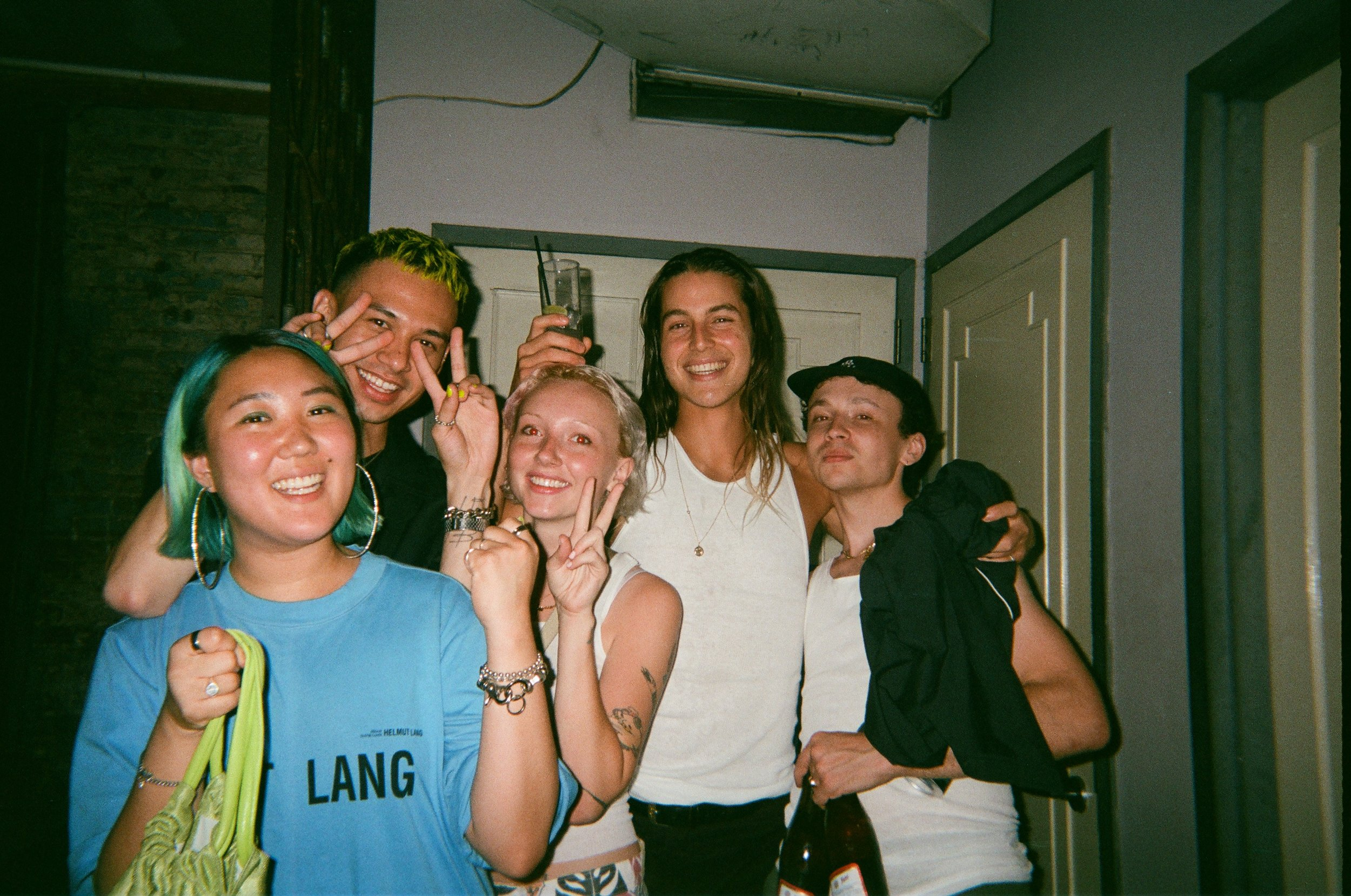 August 2018 // New York, New York  - Some of my cutie coworkers at our summer werk party. I love work parties because you're able to be with all your coworkers in a