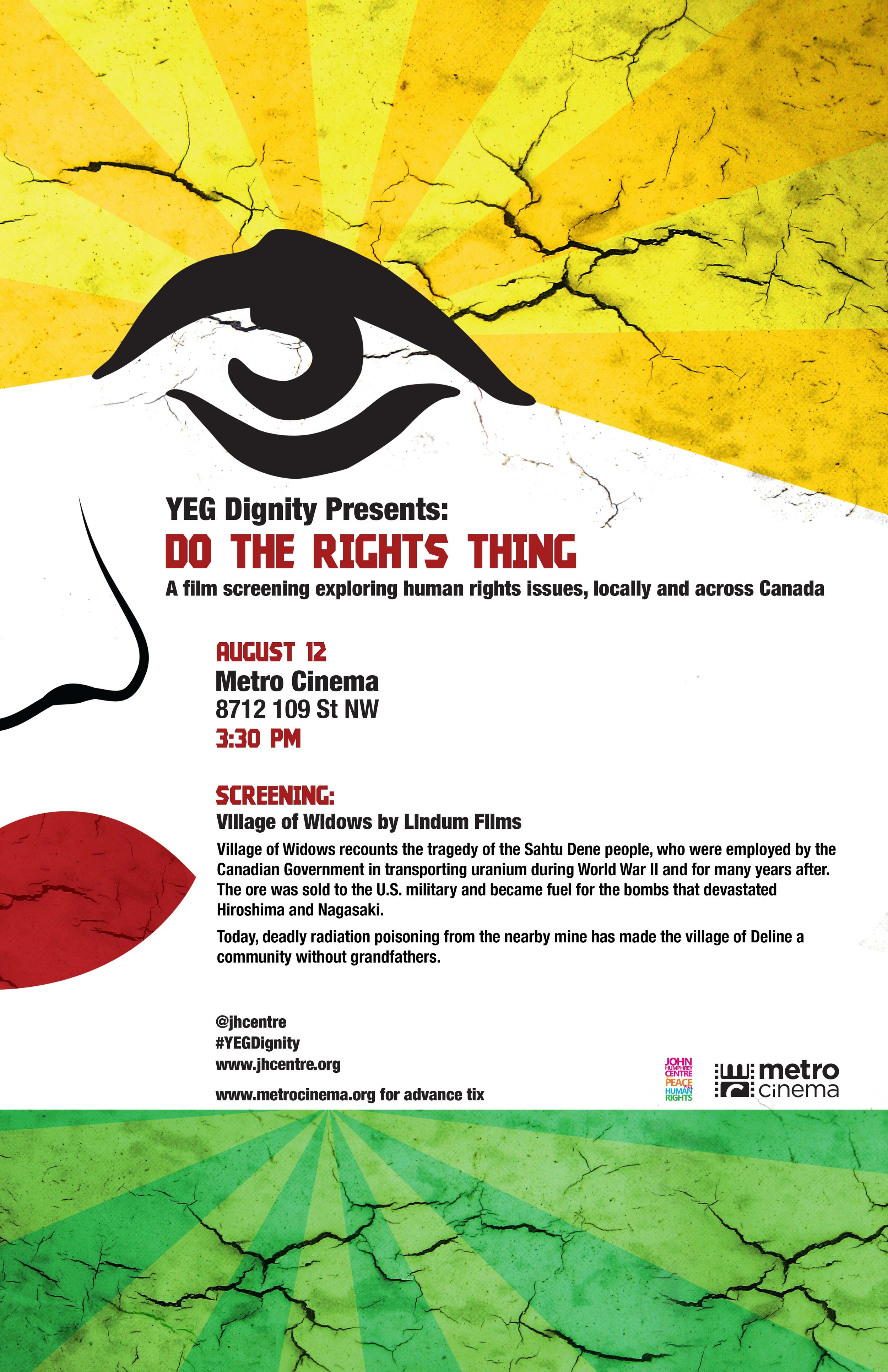 Do The Rights Thing August 12