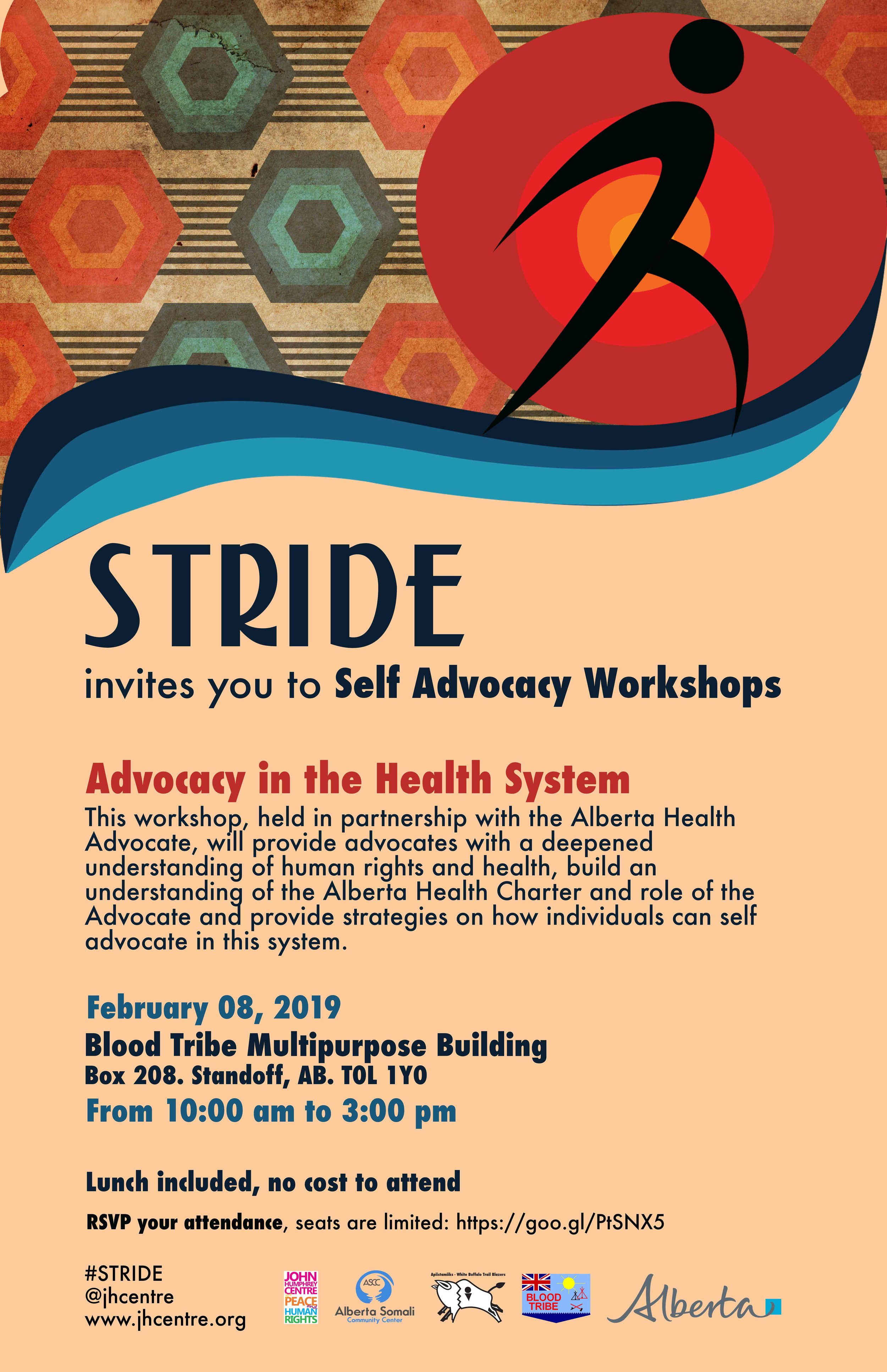 Stride Southern Alberta: Advocacy in Health