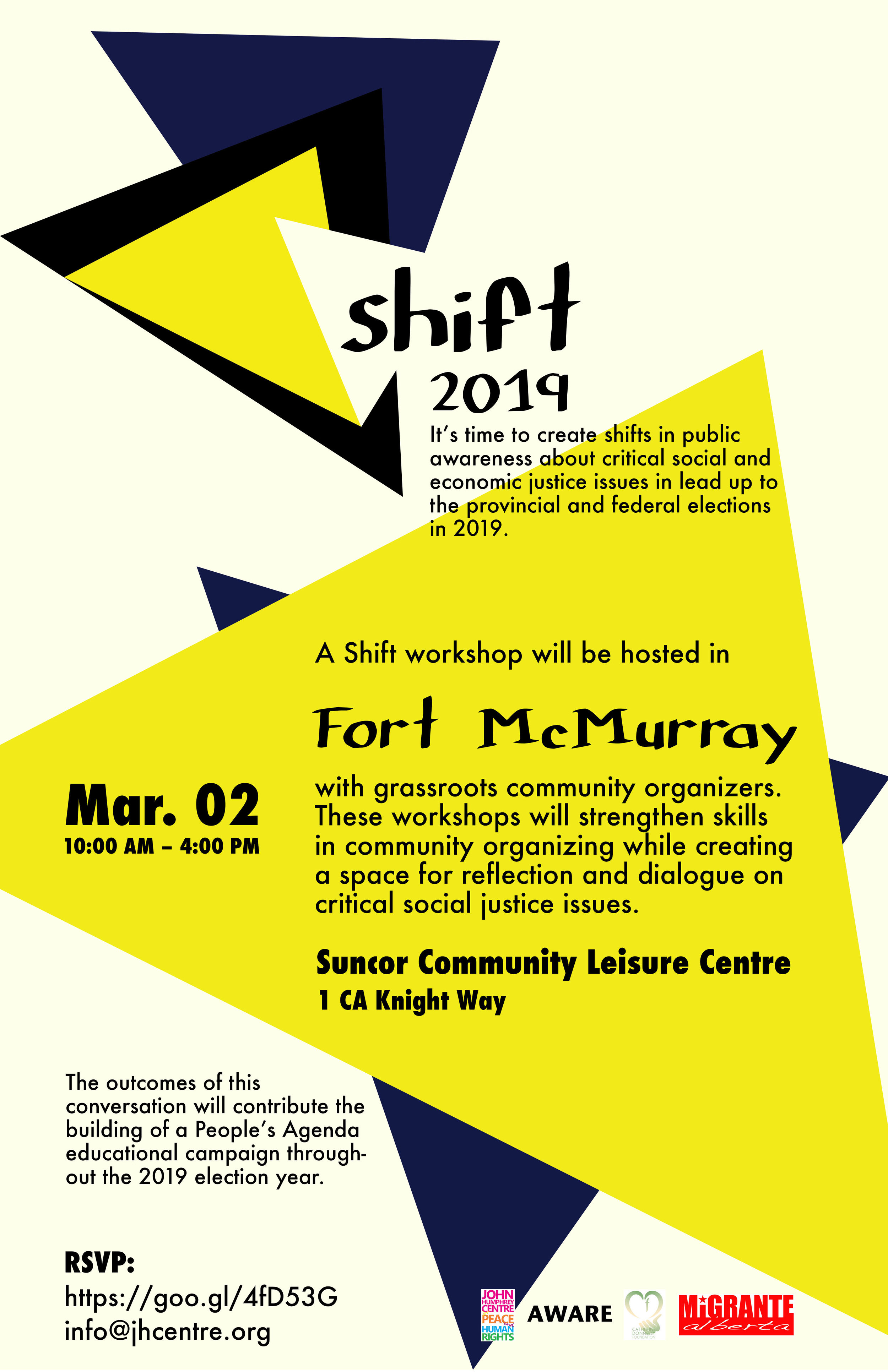 Shift 2019  Fort McMurray Poster