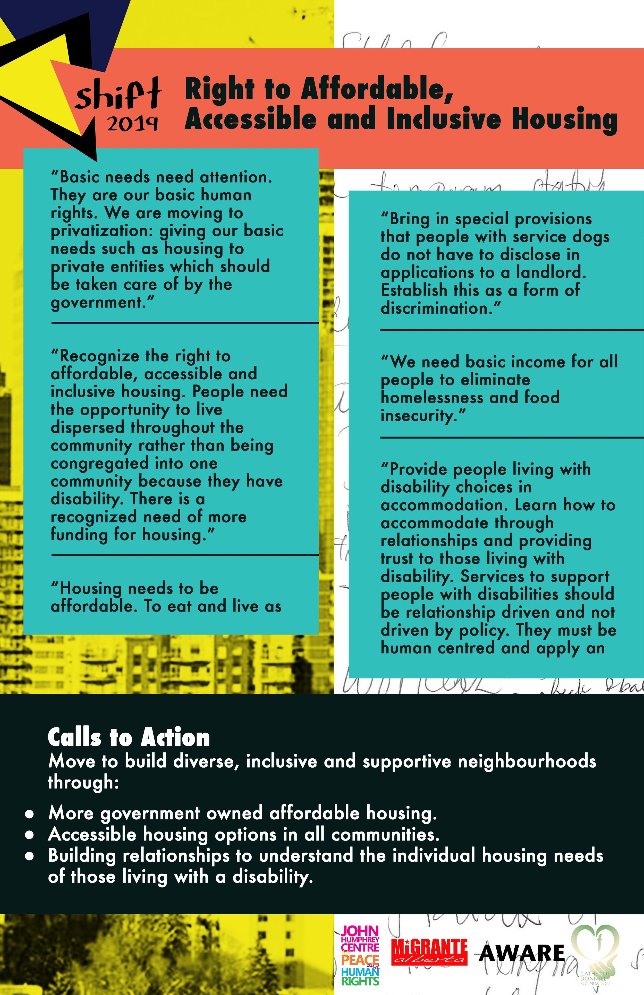 Shift 2019 Housing Poster