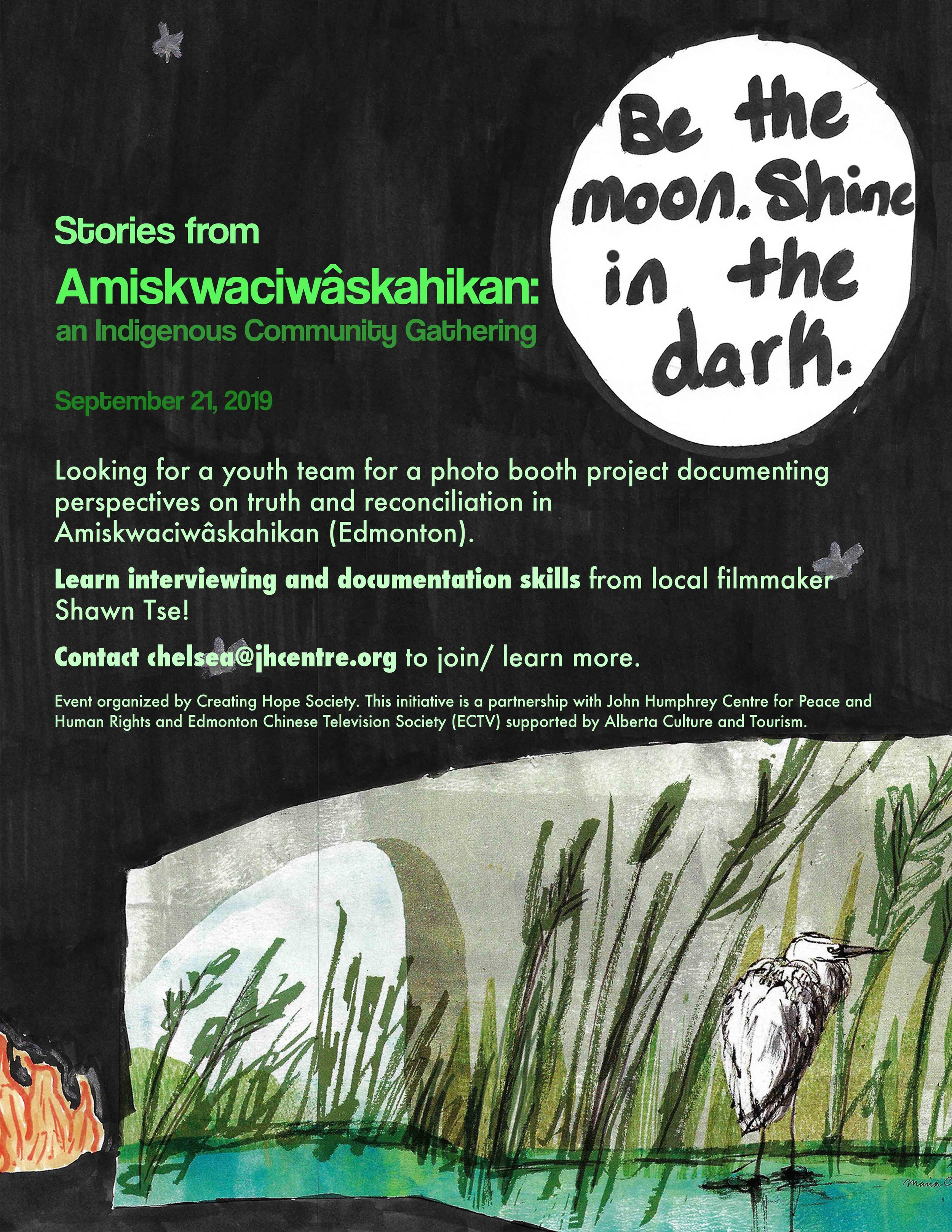 Stories from Amiskwaciwâskahikan: An Indigenous Community Gathering