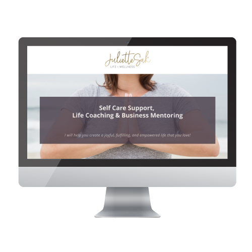 high-end-website-design on Sqaurespace for business coach by Alexander Design co