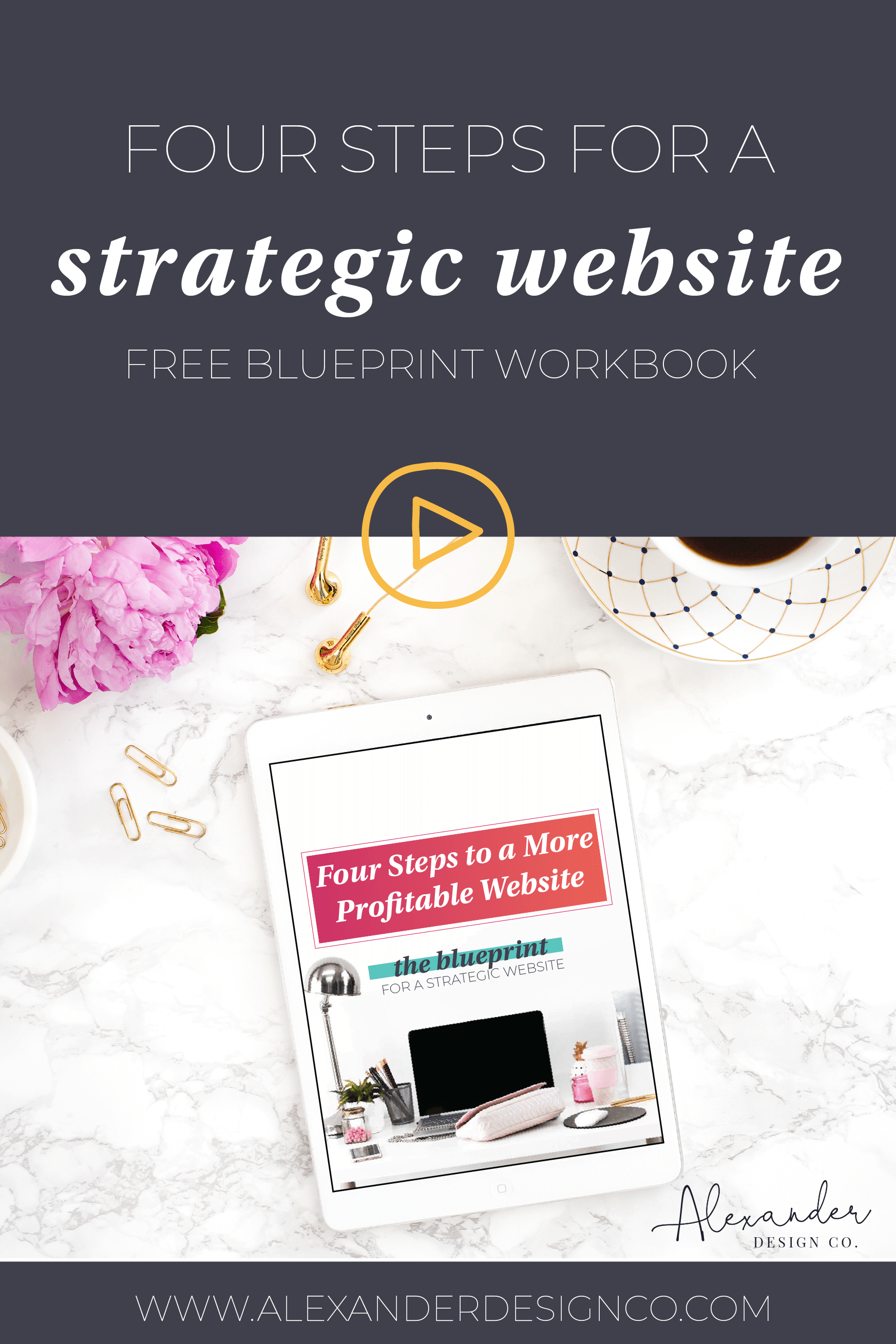 Four steps to make your website more effective