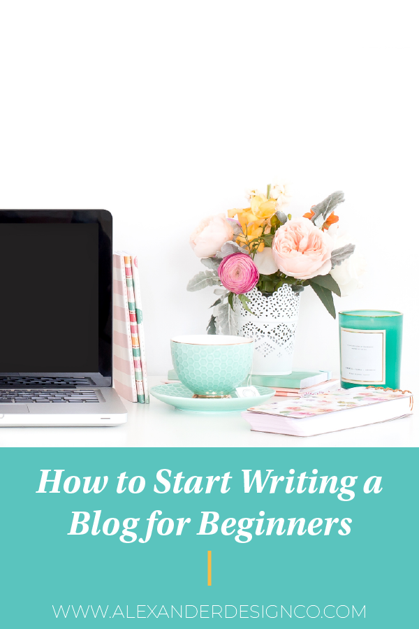 How to start writing a blog for beginners