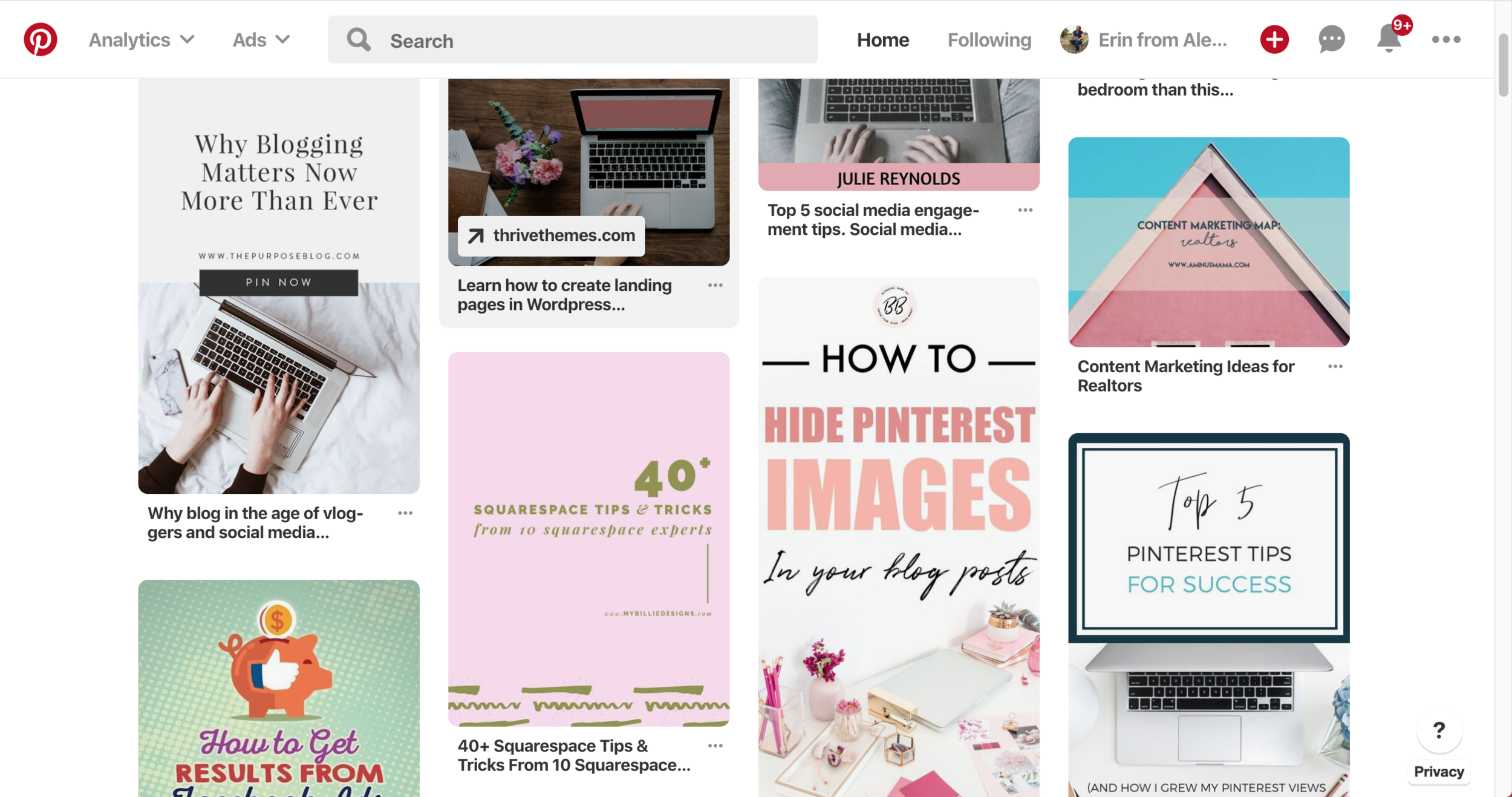 How To Make Your Squarespace Website Pinterest Friendly