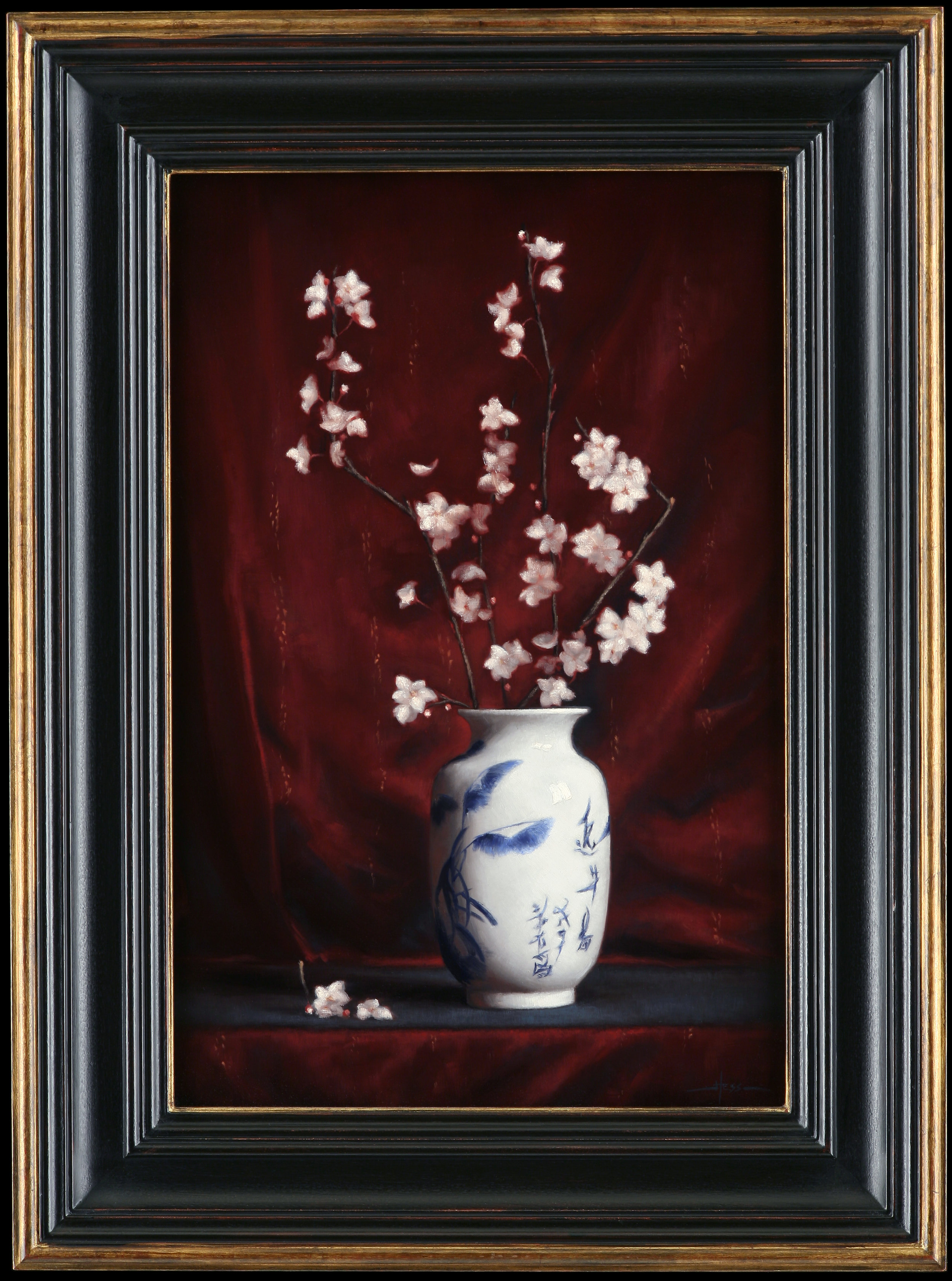 Chinese Vase with Almond Blossoms (Frame).jpg