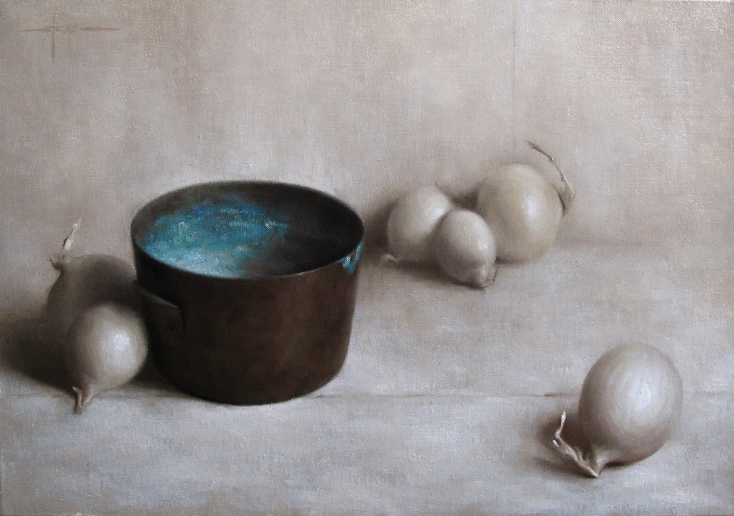 1- Composition with Oxidized Copper Bowl & Onions.jpg