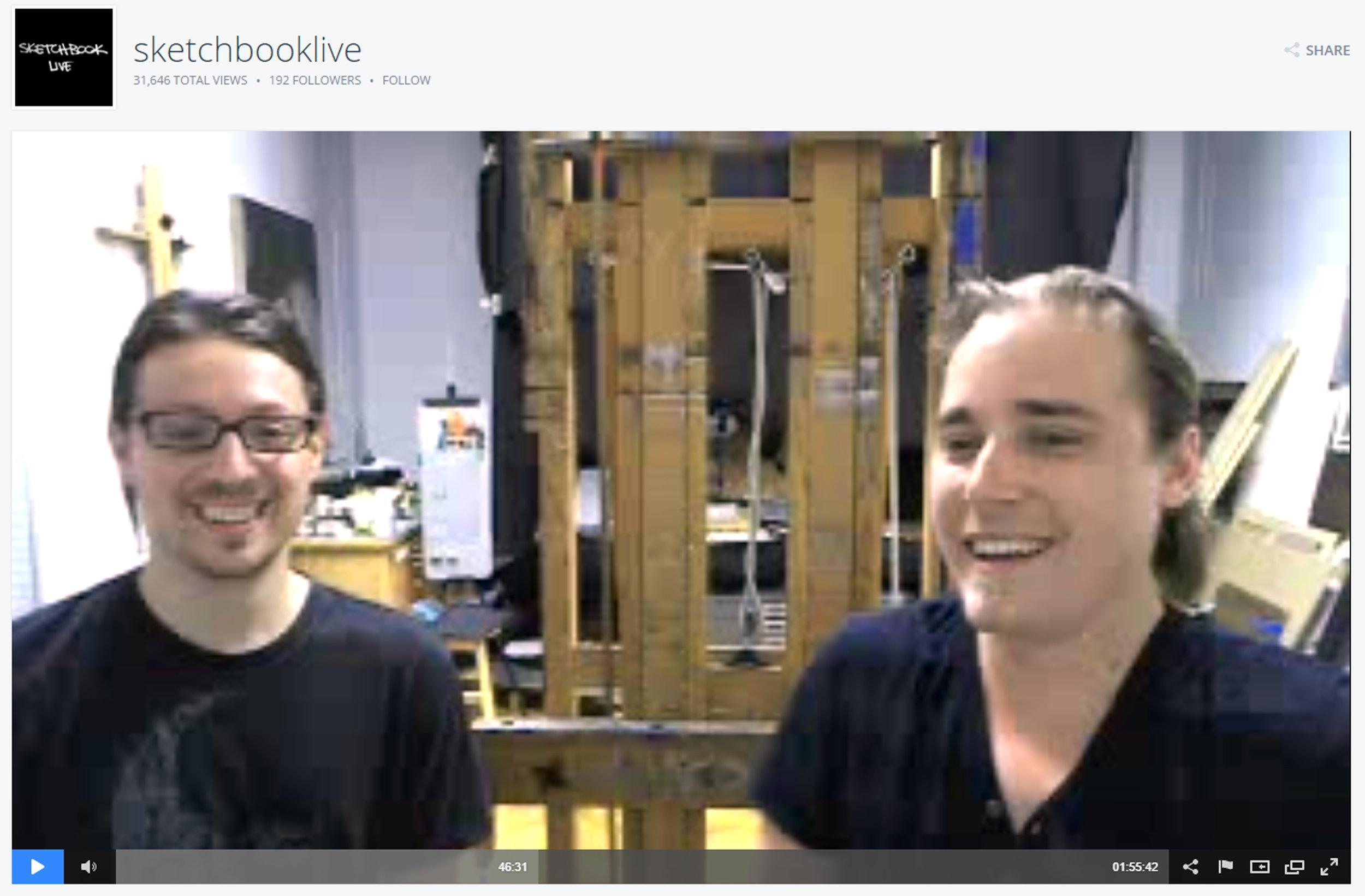 Sketchbook Live  with  David Kassan