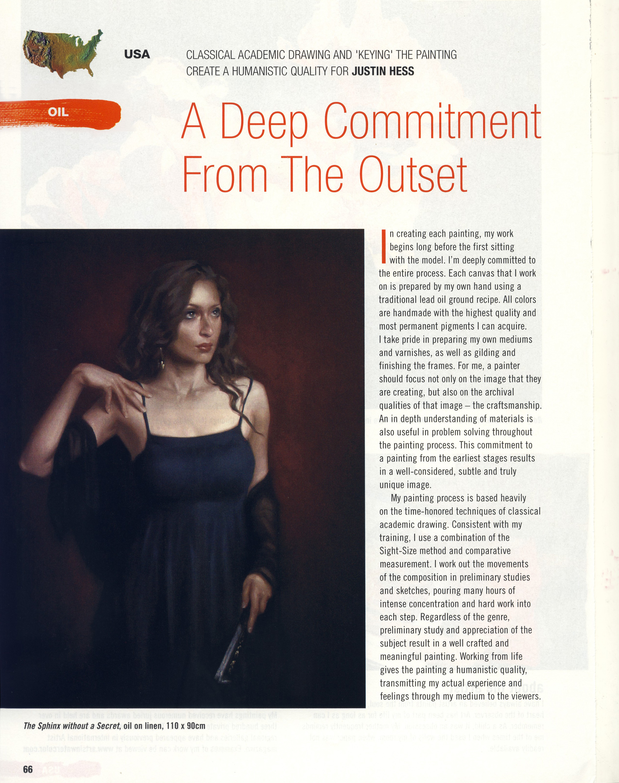 International Artist Magazine  - April Issue 2012