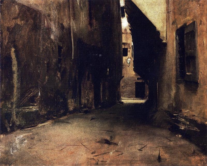 Via della Brache, Florence by John Singer Sargent