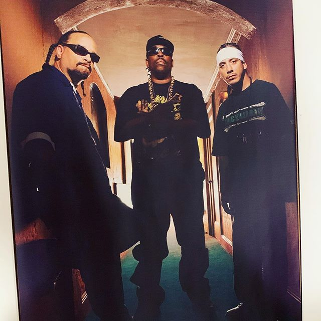 #tbt I was super honored to create such an amazing record with 2 legends in Hip Hop ... The grandest of them all even yo momma fall for @therealgrandmastercaz and The Original Gangsta @icet  Go Check out our video Filthee  #Ayayaya ft. Caz and Ice-T ... Video Shot by @billycorben