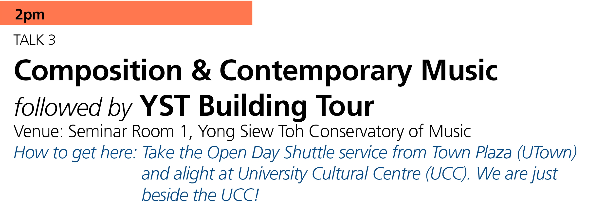 YST Assistant Dean,  Associate Professor Peter Edwards  shares the core of  composition and contemporary     music  curriculum. A building tour will follow after the talk.