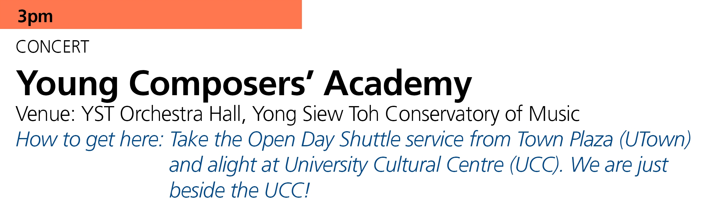 Members of OpusNovus and Wu Xian contemporary music ensembles perform the world premieres of          new works by participants in the  YST Young Composers' Academy (YCA) .