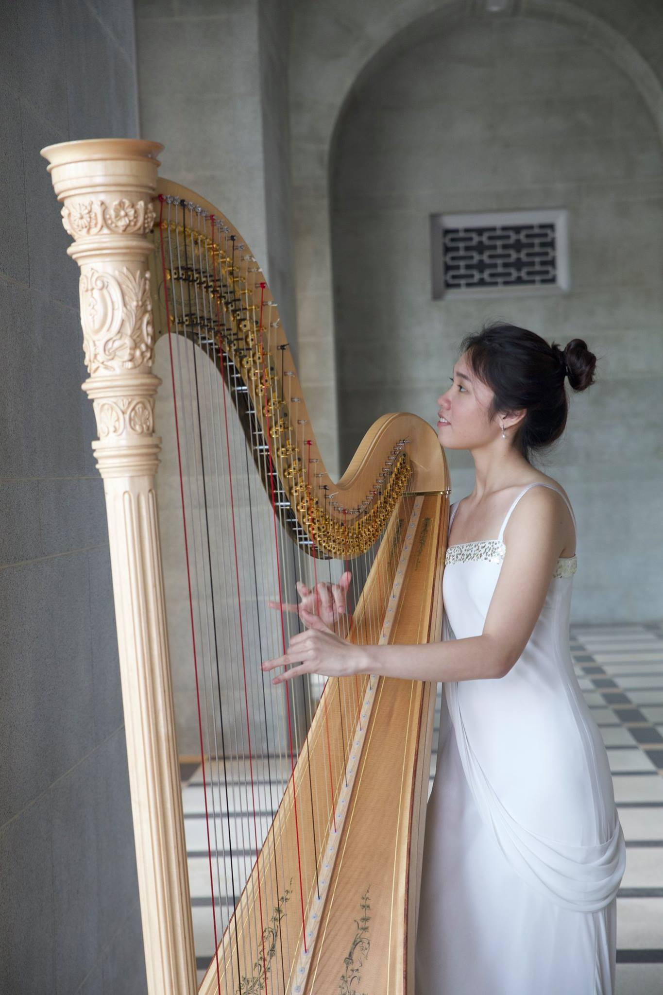 Charmaine Teo, Harp, YST Conservatory