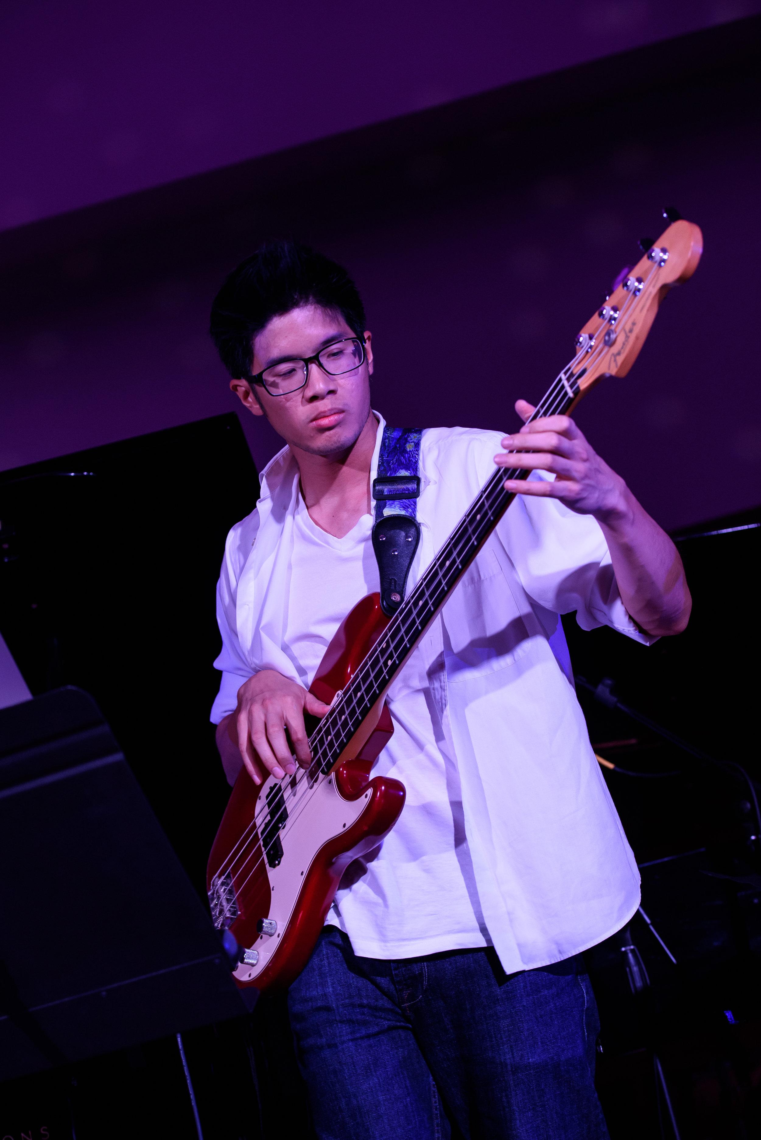 David Loke ('15, Violin) in performance.