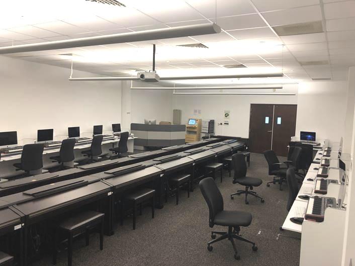 Music Tech and Keyboard Lab