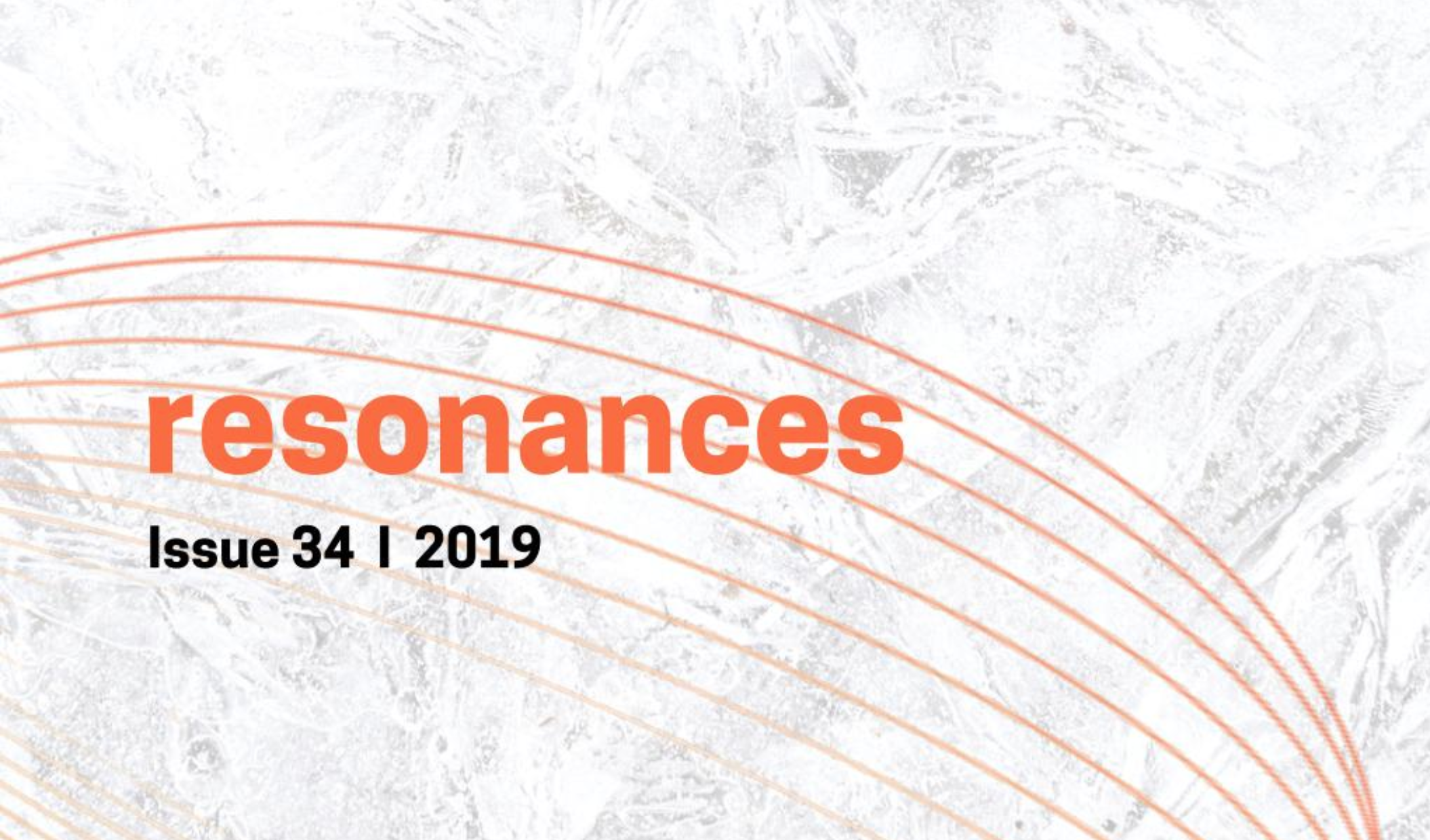 Resonances: 2019 Issue