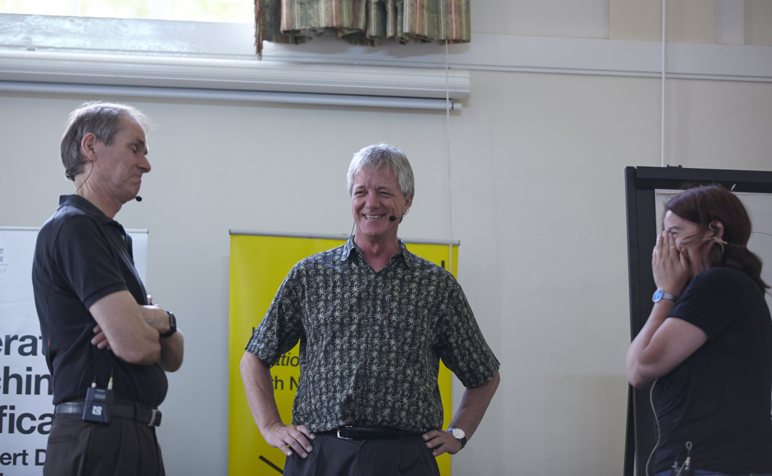 Steve Robert having fun with client.jpg