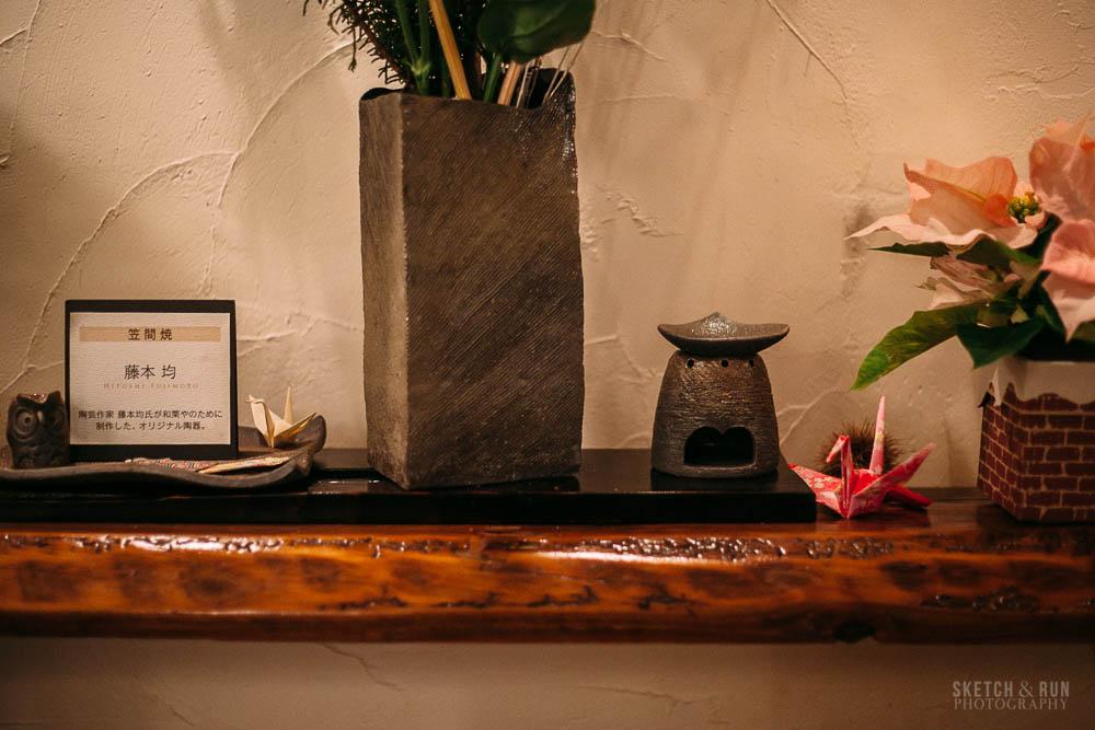 waguriya, dessert, japan, tokyo, yanaka ginza, traditional, sweet, sketch and run