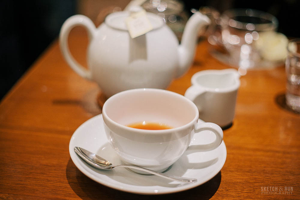 harbs, tea, coconut tea, tokyo, sketch and run