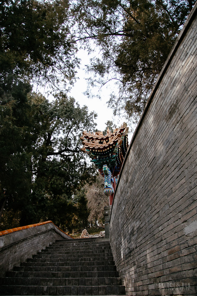 beihai, beijing, china, park, travel photography, street photography, sketch and run