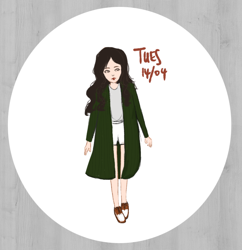 sketch in style, ootd, outfit, drawing