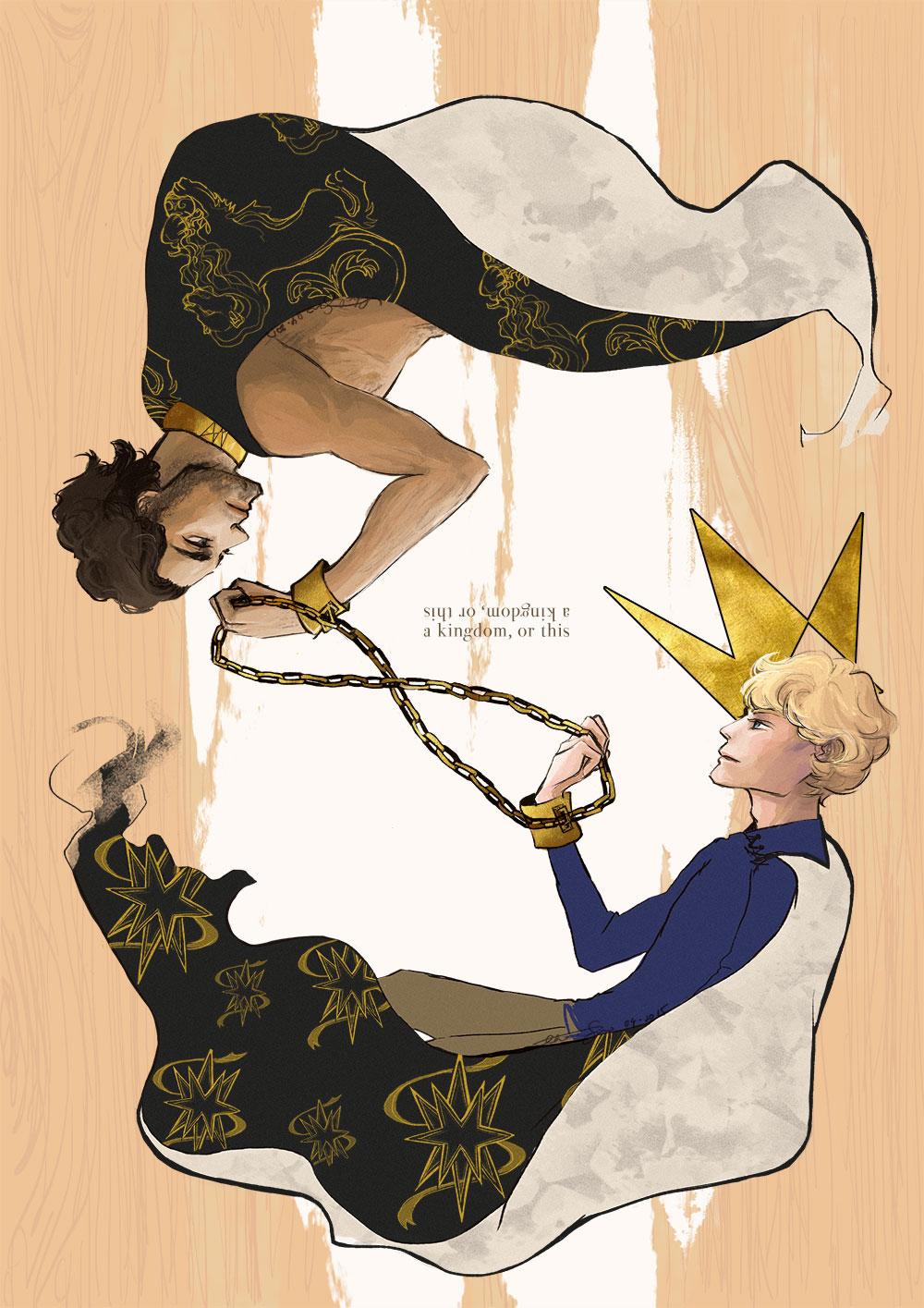 captive prince, fanart, cs pacat, sketch and run
