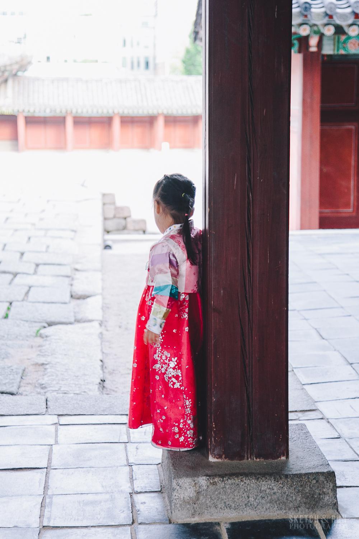 Changdeokgung - hanbok