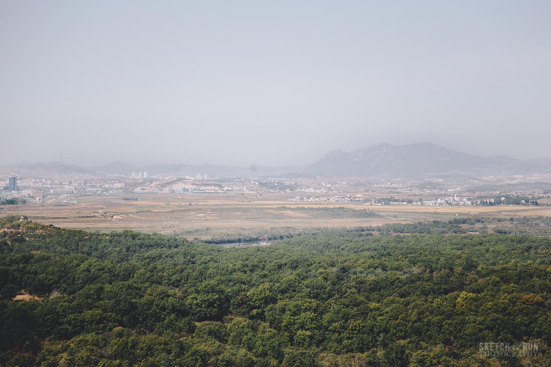 DMZ, Korea, North Korea, landscape