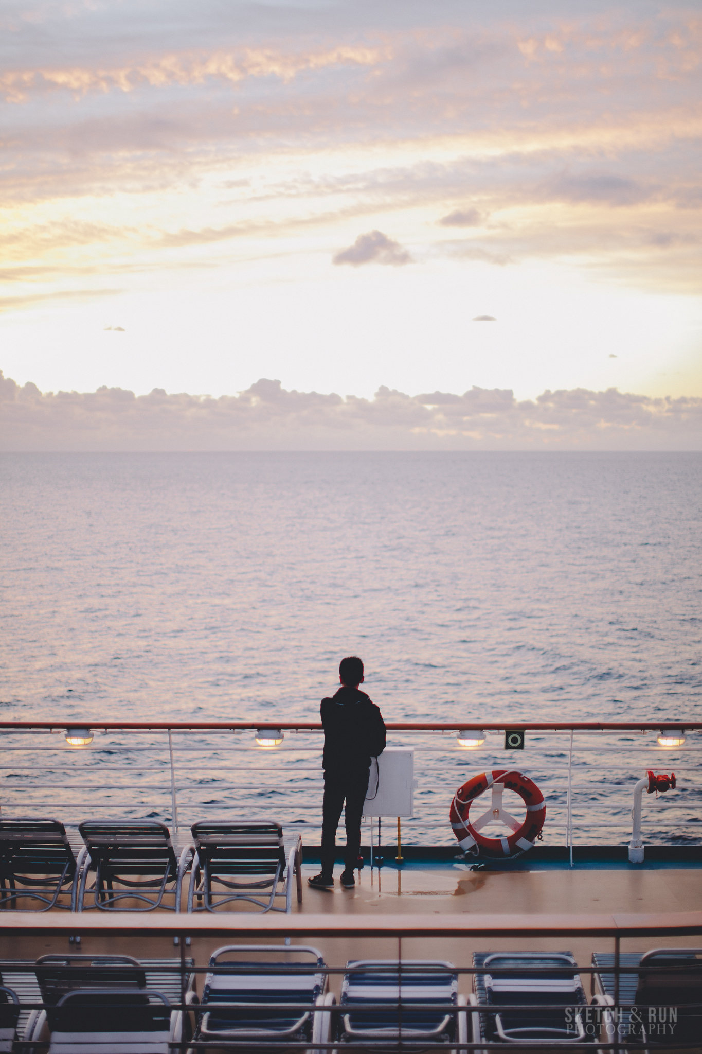 sunrise, ocean, pacific, cruise, explorer of the seas, royal caribbean