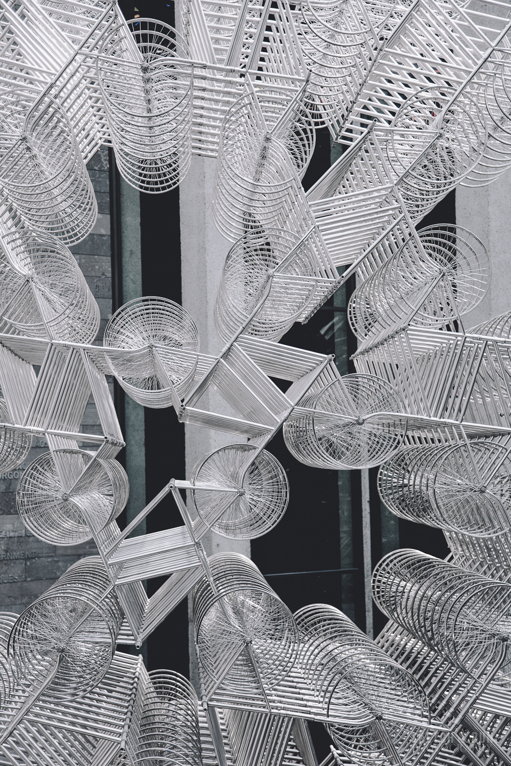 forever bicycles, ai wei wei, national gallery of victoria, art, installation